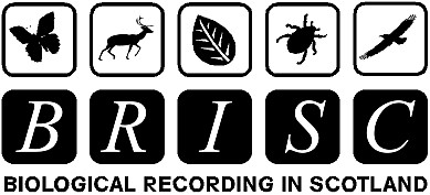 Biological Recording in Scotland (BRISC) logo