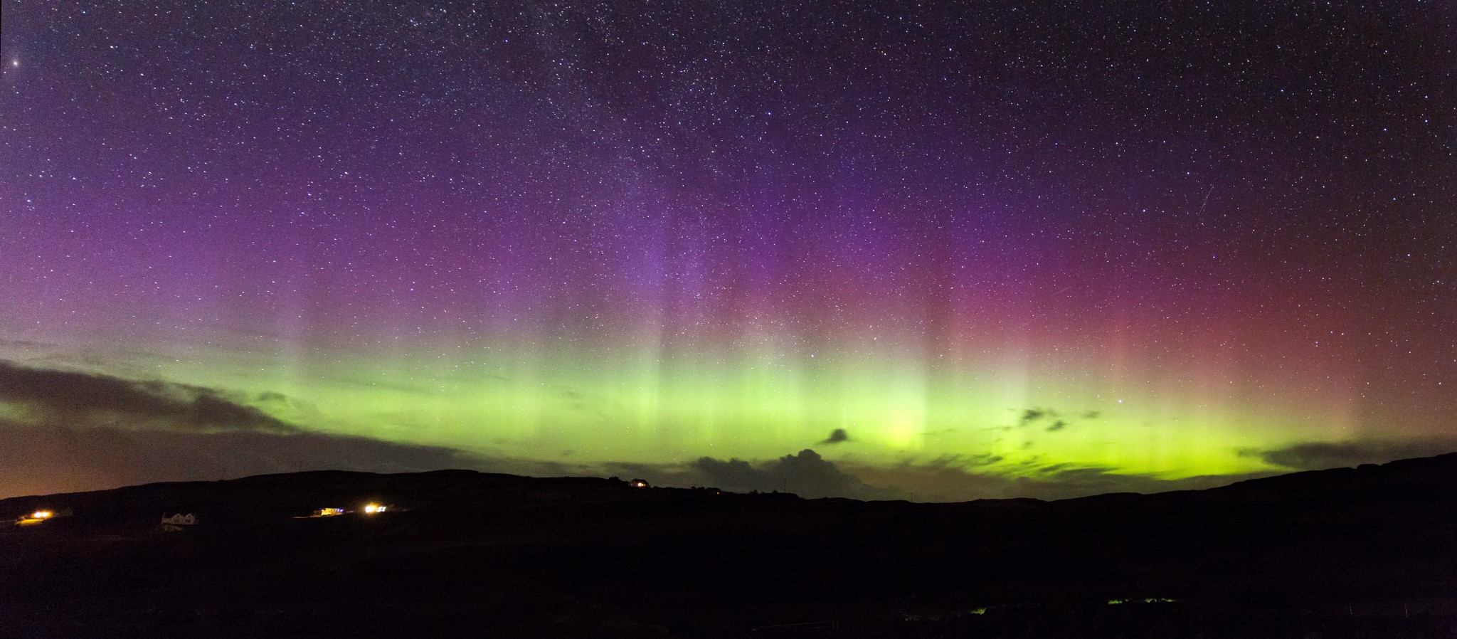 Northern Lights on Skye