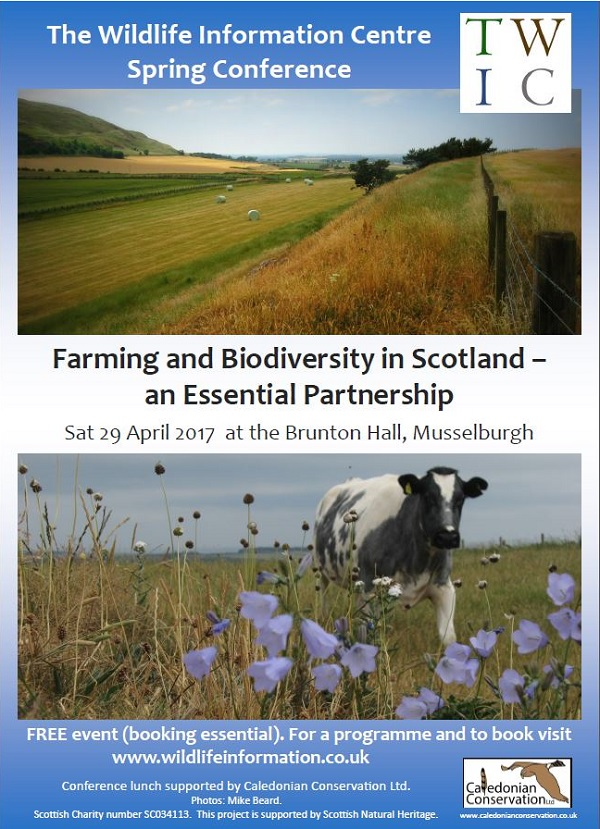 TWIC 2017 Spring Conference: Farming and Biodiversity in Scotland – An Essential Partnership